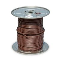 18/6 SOL CU Thermostat Wire (UL) CL2R Brown - Riser Rated, 250'