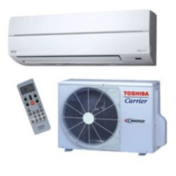 "Carrier®-Toshiba 18,000 Btu Mini Split High Wall Heat Pump System (1/4""-1/2"" line set) R-410a 208-230V"