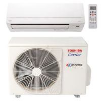 Carrier© Toshiba Ductless System 22,000 Btu Up to 23 Seer Single Zone Heat Pump (Matches EKV High Wall) 220v