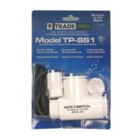 TradePro® - 97633 - Safe-T-Switch SS1 Primary drain/Secondary drain outlet Condensate shutoff switch- TradePro® TP