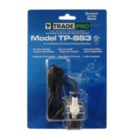 TradePro - 97641 - Safe-T-Switch SS3 Primary and Secondary drain outlet, Condensate shutoff switch - Trade Pro TP