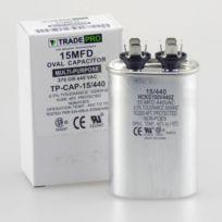 TradePro 15 MFD 440 Volt Oval Run Capacitor
