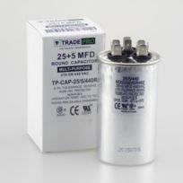 TradePro 25+5 MFD 440 Volt Round Run Capacitor