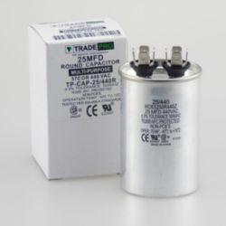 TRADEPRO® - 25MFD 440V AC Round Run Capacitor