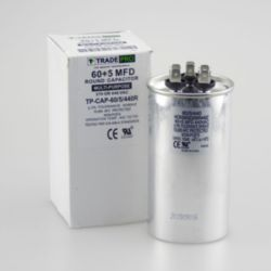 TradePro® - 60+5 MFD 440 Volt Round Run Capacitor