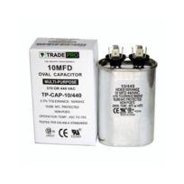 TradePro 10 MFD 440 Volt Oval Run Capacitor