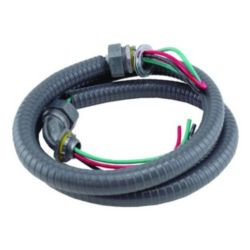 "Trade Pro™ Whip, Non-Metallic Connector, 1/2"" x 6'"