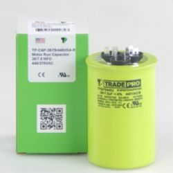 TRADEPRO® - TP-CAP-35/7.5/440USA-R  35/7.5 MFD 440V Round Capacitor (Made in USA)