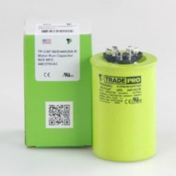 TRADEPRO® - TP-CAP-50/5/440USA-R  50/5MFD 440V Round Capacitor (Made in USA)