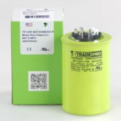 TRADEPRO® - TP-CAP-50/7.5/440USA-R  50/7.5MFD 440/370V Round Capacitor (Made in USA)