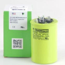 TRADEPRO® - TP-CAP-55/7.5/440USA-R  55/7.5 MFD 440/370V Round Capacitor (Made in USA)