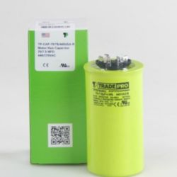 TRADEPRO® - TP-CAP-70/7.5/440USA-R  70/7.5 MFD 440/370V Round Capacitor (Made in USA)