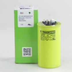 TRADEPRO® - TP-CAP-80/5/440USA-R  80/5 MFD 440/370V Round Capacitor (Made in USA)