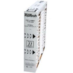 "TopTech - 20"" x 20"" x 4"" Cartridge Air Filter MERV 11"