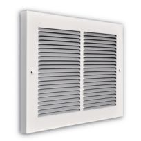 """Truaire - 14"""" x 08"""" 1/3"""" Fin Spaced Baseboard Return Grille 3/4"""" Back"""