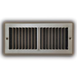 "TRUaire 150MB 04X10 4"" x 10"" Brown Floor Diffuser"