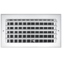 "Truaire - A301HM 14X06  14"" x 6"" 1 Way Aluminum Adjustable Wall/Ceiling Register"