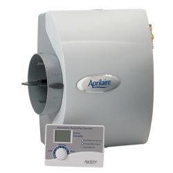 Aprilaire - Large Capacity Whole-House Bypass Humidifier With Digital Control