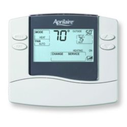 Aprilaire - 8466  Digital Programmable Thermostat Dual Power 2H/2C 3H / 2 Heat Pump