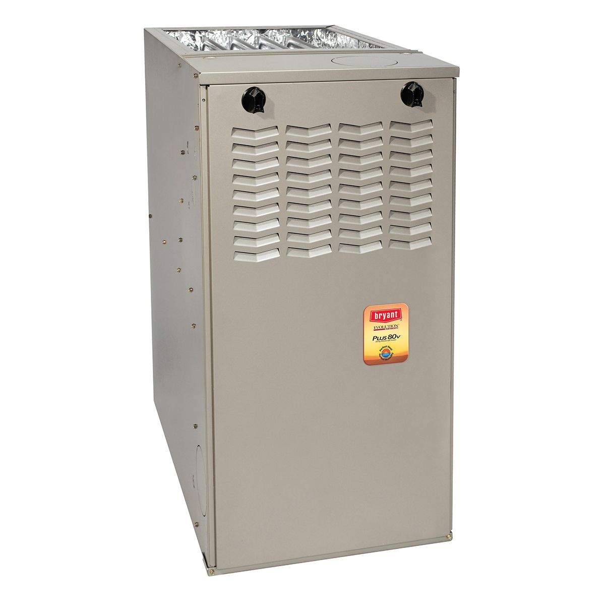 Bryant® Evolution® 80% AFUE 90000 Btuh Variable Speed Multipoise Gas Furnace