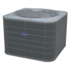 Carrier Comfort 2 5 Ton 15 Seer Residential Heat Pump Condensing Unit Carrier Hvac