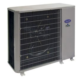 Carrier Performance 2 5 Ton 14 Seer Residential Horizontal Heat Pump Condensing Unit 208 230 1 Carrier Hvac