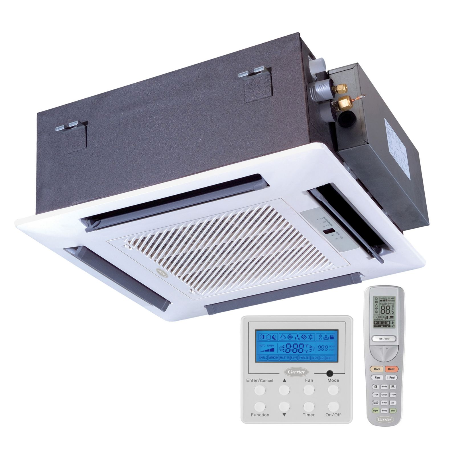 Carrier Infinity Ductless 18000 Btuh Heat Pump Cassette Matches 38gjq