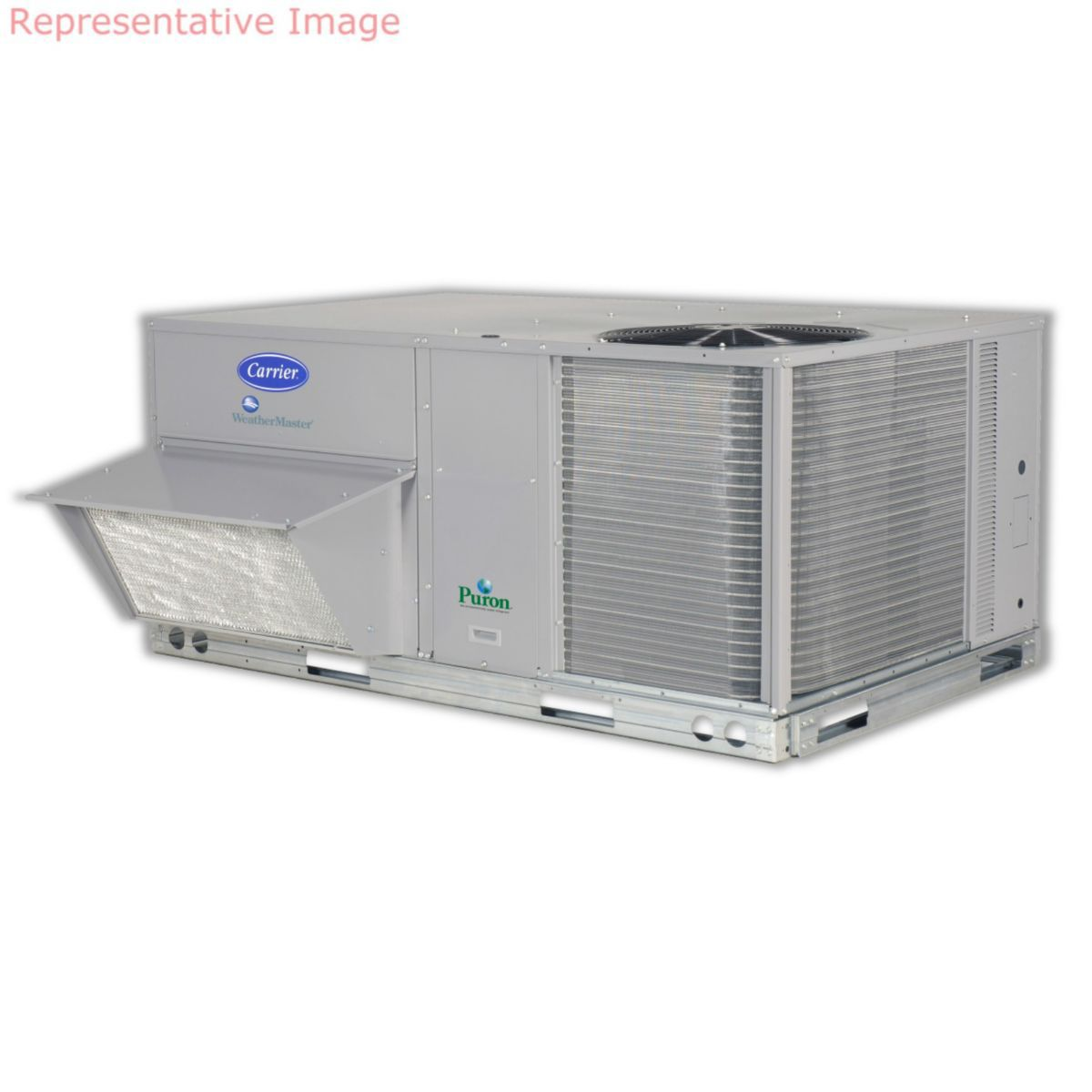 Carrier Weathermaster 85 Ton Commercial Packaged Rooftop Gas Ac Fuse Box Heat Electric Cool Unit 460 3 60