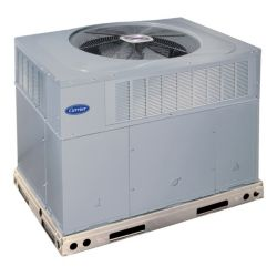 Carrier® Performance™ - 3.5 Ton 15 SEER Residential Packaged Heat Pump Unit 2-Stage (Tin-Plated Indoor Coil)