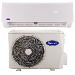 SISTEMA MINI SPLIT CARRIER ULTRA FRIO CALOR 1.5 TONELADA 220-1-60 R-410A INVERTER 24 SEER