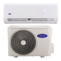 SISTEMA MINI SPLIT CARRIER XPOWER II FRIO CALOR 1 TONELADA 220-1-60 R-410A INVERTER 16 SEER