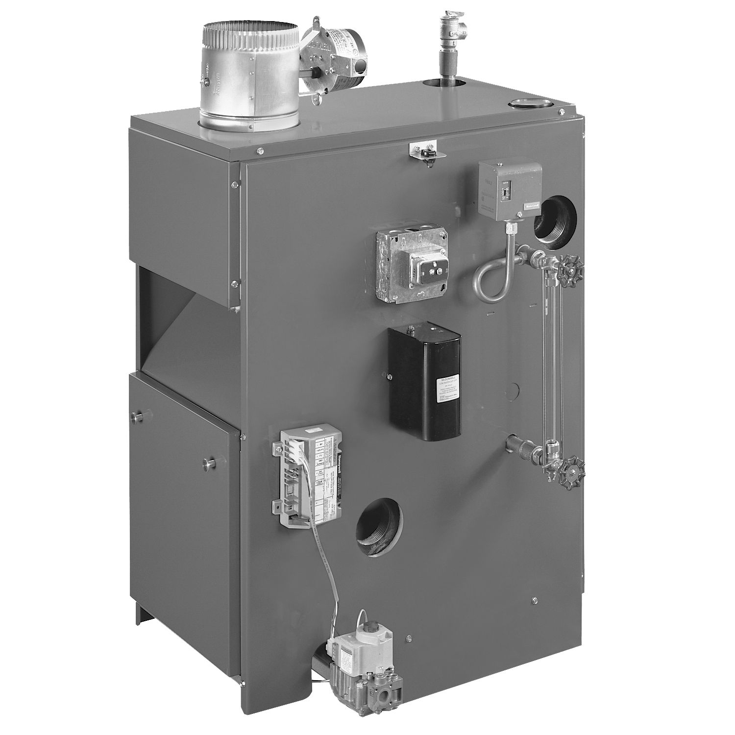 80% AFUE 187000 Btuh Gas-Fired Steam Boiler
