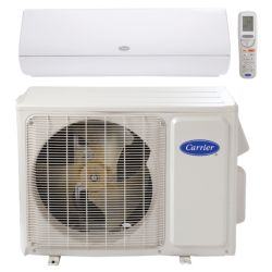 "Carrier® Infinity 1 Ton Mini Split High Wall Heat Pump System, White (1/4""-1/2"" line set) R-410a 208-230 VAC"
