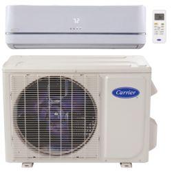 "Carrier® Performance  3/4 Ton Mini Split Heat Pump (1/4""-3/8"" line set) R-410a 115 VAC"
