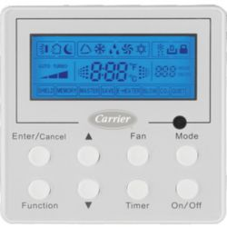 Carrier® - KSACN0201AAA  Optional Wired Remote Controller for GJ Multi-Zone Systems