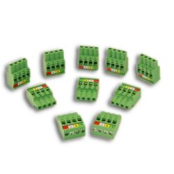 SYSTXGRPLG10 - ABCD Equipment Communication Connector Green Indoor Unit Plug