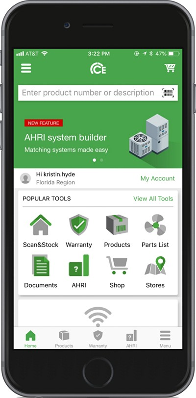 Ce Carrier Enterprise App Hvac Contractor Mobile App