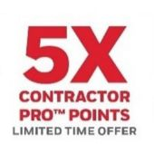 5X Honeywell Contractor Pro Points