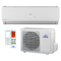 CIAC Hi Wall Systems 24K Btu Up to 22 SEER, R410A, 208-230V-60Hz, 1Ph