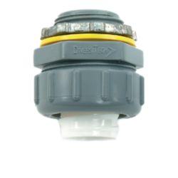 "DiversiTech® - 750-NMLT50 1/2"" Non-Metallic Straight Connector"