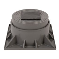 DiversiTech® - HPR-3-2P  Two Piece Heat Pump Riser 3""