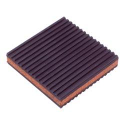 "DiversiTech® - MP-4C Cork/Rubber Anti-Vibration Pad 4"" x 4"""