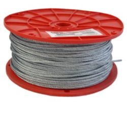 "Duro Dyne - 30204 Dyna-Tite Wire Rope 1/8"" x 500'"