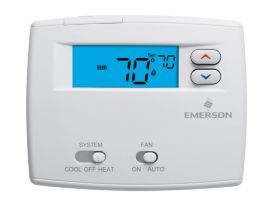 New Emerson thermostat Troubleshooting