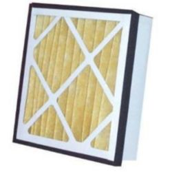 "Filtration Manufacturing - PP11-24245 24"" x 24"" x 5"" Practical Pleat Filter"