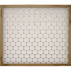 "Flanders/Precisionaire - 14"" x 25"" x 1"" Flat Panel Heavy Duty Synthetic Air Filter"