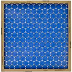 """Flanders/Precisionaire - 14"""" x 20"""" x 1"""" Modified Pinch Frame-Notched Air Filter"""