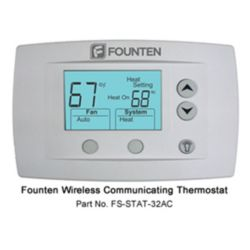 Founten - Wireless Communicating Thermostat with Humidity Control