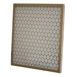 "Glasfloss® 16 3/8"" x 21-1/2"" x 1""  Fiberglass Heavy Duty Disposable Panel Filter with Metal Grids"