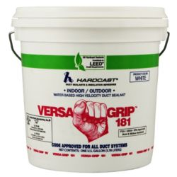 Hardcast/Carlisle - 304138 Versa-Grip 181 Premium White Water Based Duct Sealant 1 gal.
